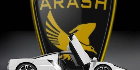 2011 Arash AF10 supercar
