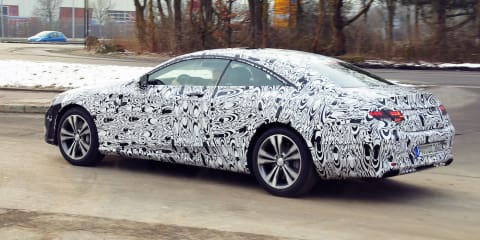 Mercedes-Benz S-Class Coupe: closer, better images