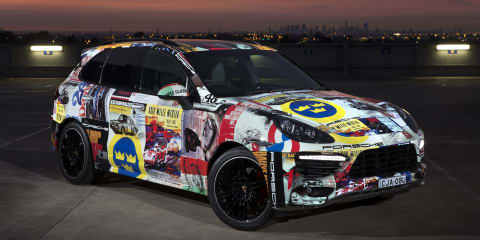 Porsche Cayenne GTS V8 Supercars medical car revealed