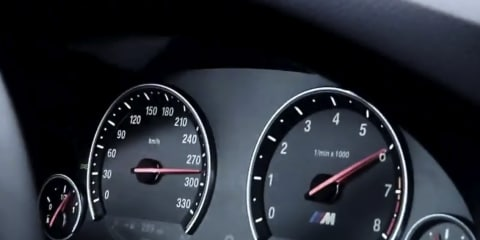 Video: 2012 BMW M5 high-speed testing at Nardo