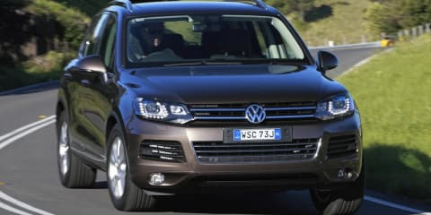Volkswagen Touareg goes diesel-only for 2013 update