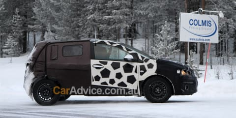 2010 Chevrolet Aveo spy photos