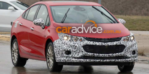 2017 Chevrolet/Holden Cruze Hybrid spied, Australia a hot chance