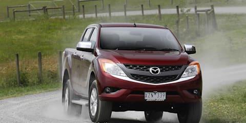 2012 Mazda BT-50 diesel engine data, no petrol option