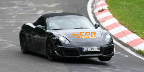 New Porsche Boxster Spy Photos