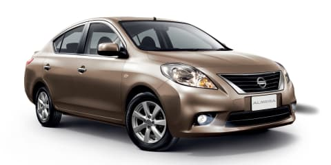 Nissan Almera coming in 2012
