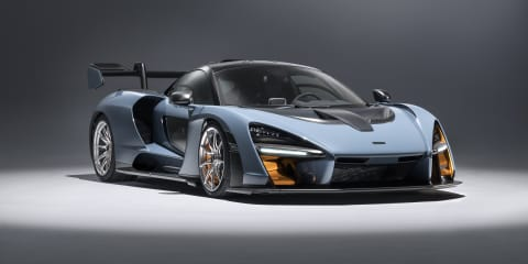 McLaren Senna will hit 340km/h, creates 800kg of downforce