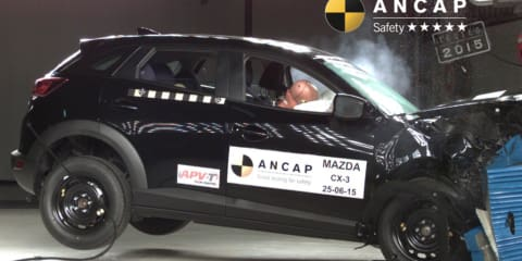 ANCAP crash test results: Audi TT scores four stars, Mazda 2 and CX-3 get five