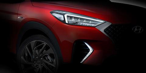 Hyundai Tucson N-Line teased