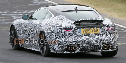 2021 Jaguar F-Type facelift spied
