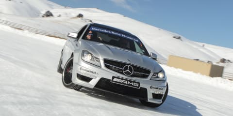 Mercedes-Benz AMG Snow Challenge: Fire and Ice