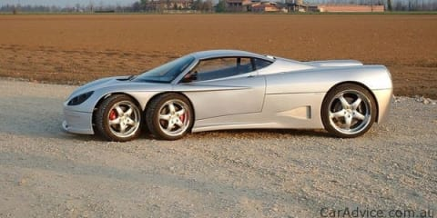 Covini C6W six-wheel supercar ready for production