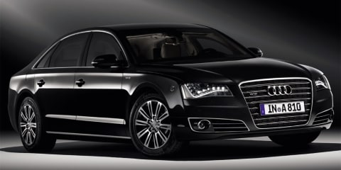2011 Audi A8L Security revealed