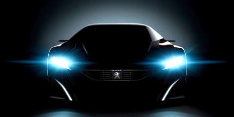 Peugeot Onyx concept: new sports coupe teased