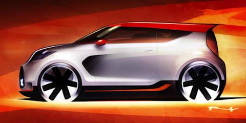 Kia Track-ster Concept teaser sketch