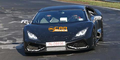 Lamborghini Cabrera: Gallardo successor spied at the Nurburgring