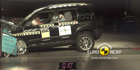 Skoda Yeti earns five-star ANCAP safety rating, four stars for Toyota HiAce