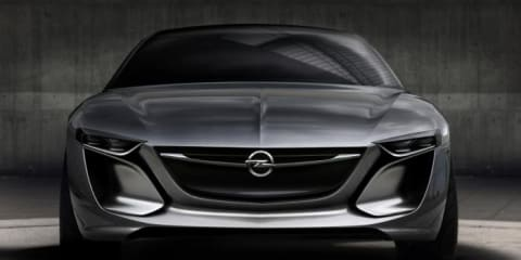 Opel Monza concept: new teaser image released