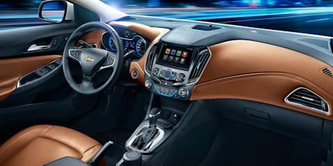 Chevrolet Cruze cabin revealed