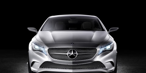 Mercedes Concept A-Class at New York Auto Show