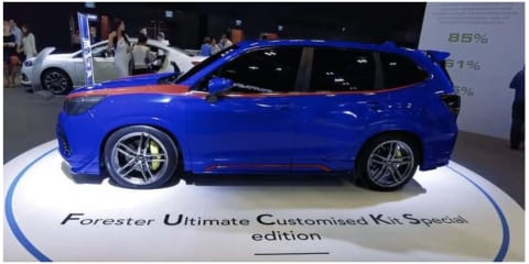 Subaru issues apology over rudely-named Forester concept car
