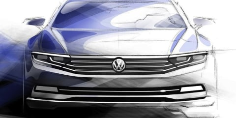2015 Volkswagen Passat sketches released