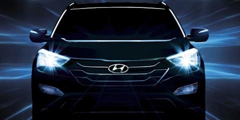 2012 Hyundai Santa Fe: more teaser images