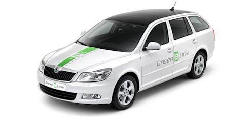 Skoda Octavia Green E Line testing begins