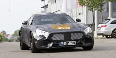 Mercedes-Benz SLS AMG successor hits the streets