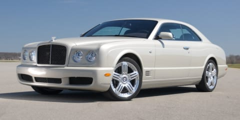 Bentley Arnage recalled due to rusty hood ornament