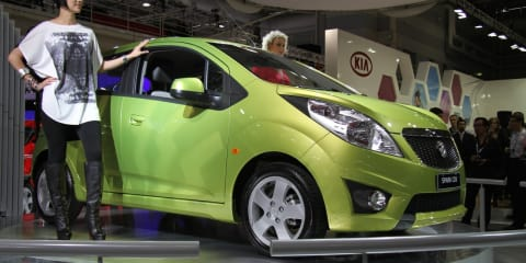 Holden Barina Spark at 2010 AIMS