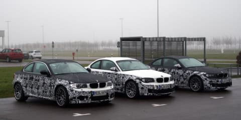 BMW 1 Series M Coupe public test drive reveals more details