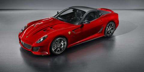 Ferrari 599 GTO official photos and details