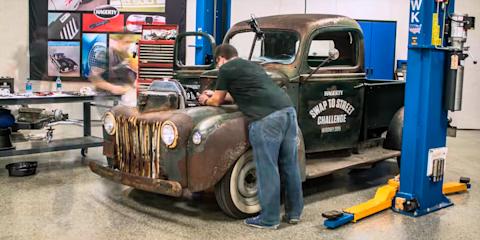 Amazing 1946 Ford Pickup Flathead V8 Rebuild