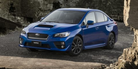 2015 Subaru WRX pricing from $38,990