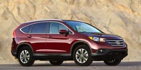 2012 Honda CR-V revealed at Los Angeles Auto Show