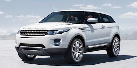 Range Rover Evoque Sport under consideration