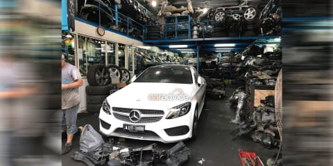 Australia soft on stolen car exports: Melbourne Mercedes found in Dubai, authorities do nothing