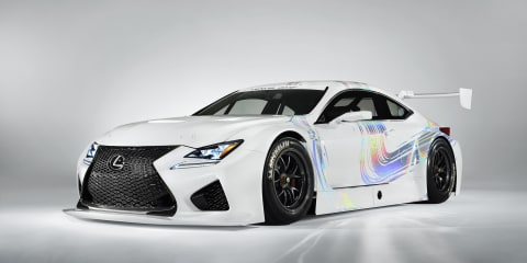Lexus RC F GT3: 400kW rear-drive coupe races to Geneva