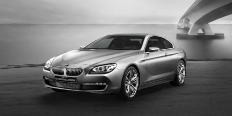 2012 BMW 6 Series Concept preview to Paris Motor Show