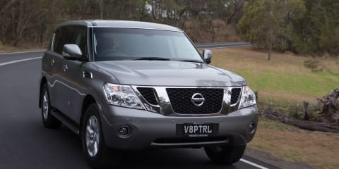 2013 Nissan Patrol pricing and specifications
