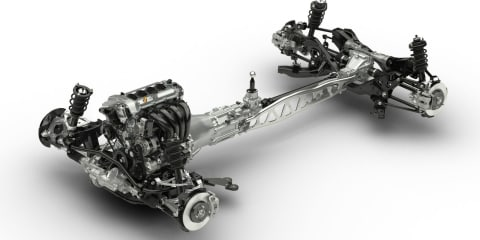 Mazda MX-5 : new-generation sports car's chassis unveiled