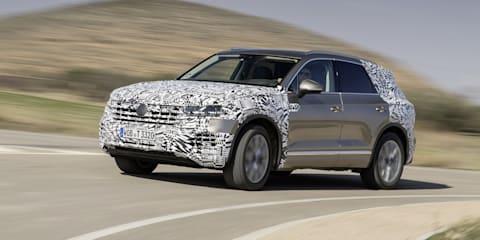 2019 Volkswagen Touareg teased again - VIDEO