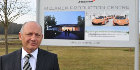 McLaren's Ron Dennis banned from driving for six months