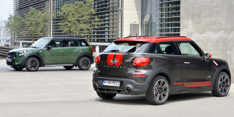 2015 Mini Countryman and Mini Paceman pricing announced