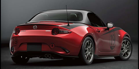 Mazda MX-5 carbon hardtop, 3 bodykit revealed