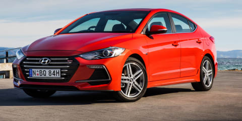 2017 Hyundai Elantra SR pricing and specs: Souped-up sedan hits Australia