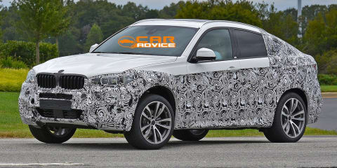 BMW X6: first look at next-gen coupe-style SUV