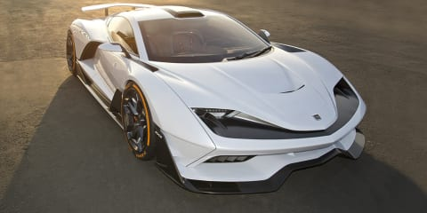 Aria FXE: 850kW hybrid hypercar revealed in LA