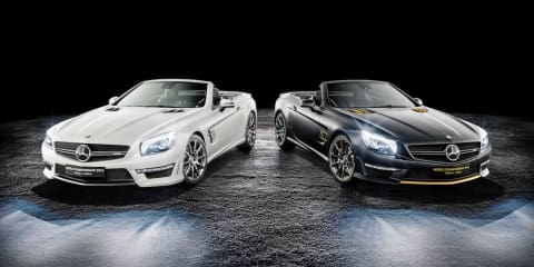Mercedes-Benz celebrates 2014 F1 Championship win with special edition SL63 AMGs